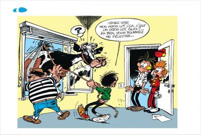 Page 4 Gaston tome 3 - version italienne - gaffes à gogo