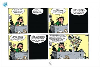 Page 4 Gaston tome 4 - version italienne - gaffes en gros