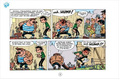 Page 6 Gaston tome 4 - version italienne - gaffes en gros