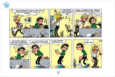 Page 8 Gaston tome 4 - version italienne - gaffes en gros