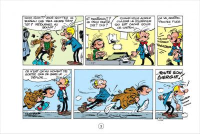 Page 3 Gaston tome 5 - version italienne - les gaffes d'un gars gonflé