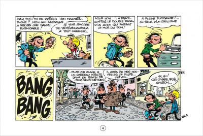 Page 4 Gaston tome 5 - version italienne - les gaffes d'un gars gonflé