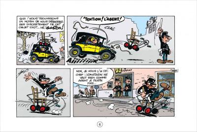 Page 6 Gaston tome 5 - version italienne - les gaffes d'un gars gonflé
