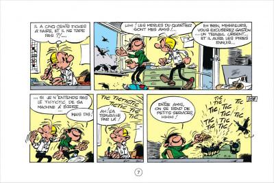 Page 7 Gaston tome 5 - version italienne - les gaffes d'un gars gonflé