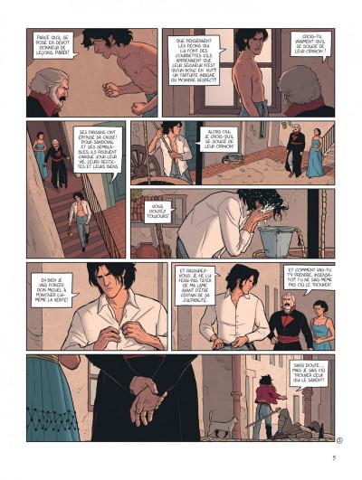 Page 5 secrets - adelante ! Tome 2/2