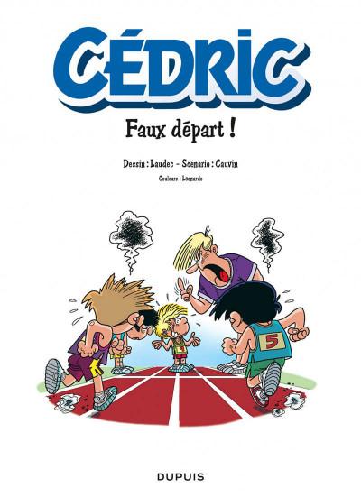 Page 1 Cédric tome 28 - Faux Départ !