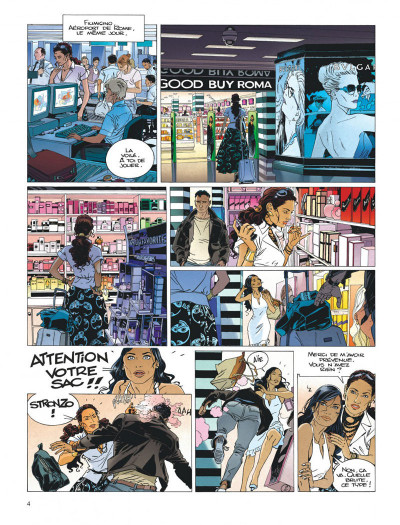Page 4 Largo Winch tome 19