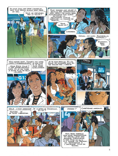 Page 5 Largo Winch tome 19
