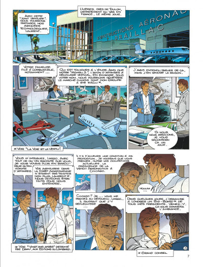 Page 7 Largo Winch tome 19