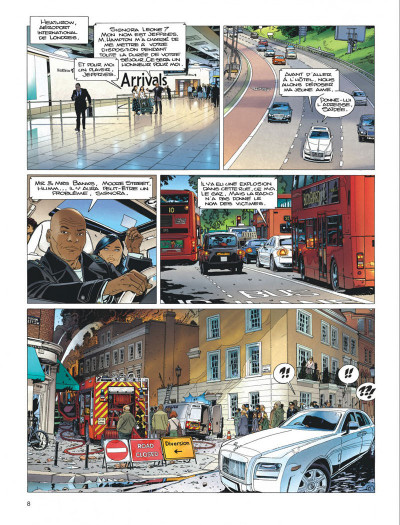 Page 8 Largo Winch tome 19