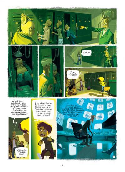 Page 8 Le monde selon François - intégrale