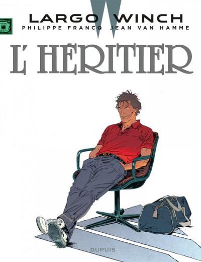Couverture Largo Winch tome 1 - l'héritier