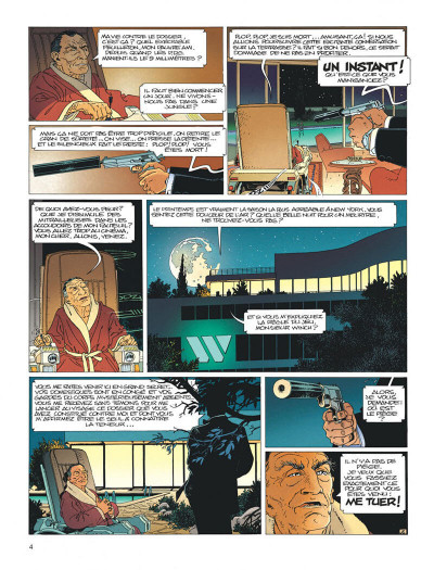 Page 4 Largo Winch tome 1 - l'héritier