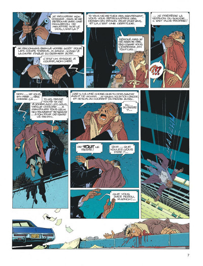 Page 7 Largo Winch tome 1 - l'héritier