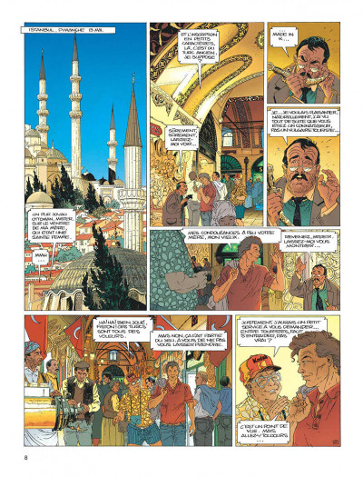 Page 8 Largo Winch tome 1 - l'héritier