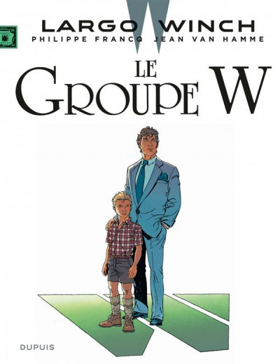 Couverture Largo Winch tome 2 - le groupe w