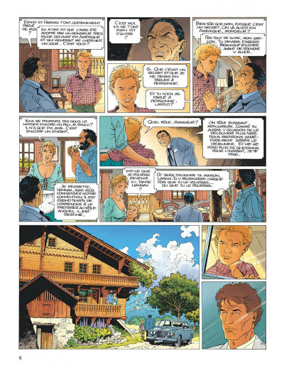 Page 6 Largo Winch tome 2 - le groupe w