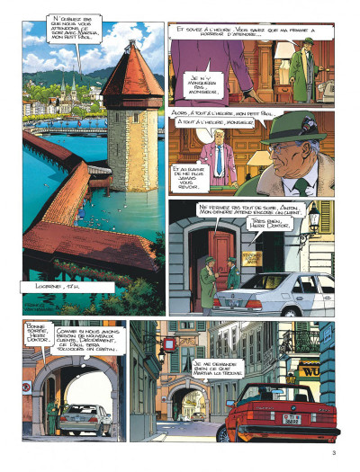 Page 3 Largo Winch tome 3 - O.P.A.
