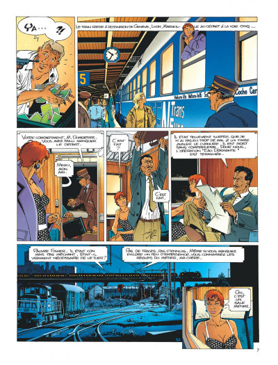 Page 7 Largo Winch tome 3 - O.P.A.