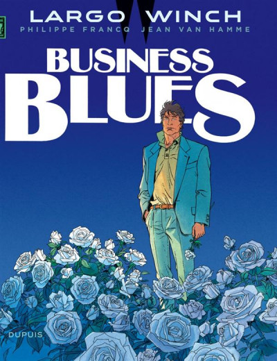 Couverture Largo Winch tome 4 - business blues