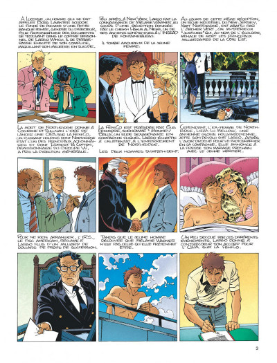 Page 3 Largo Winch tome 4 - business blues