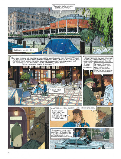 Page 4 Largo Winch tome 4 - business blues