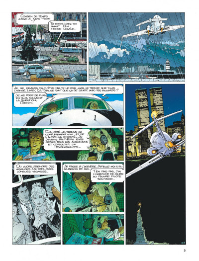 Page 5 Largo Winch tome 4 - business blues