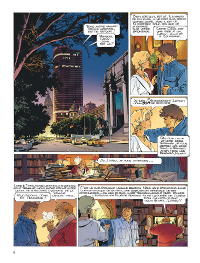 Page 6 Largo Winch tome 4 - business blues