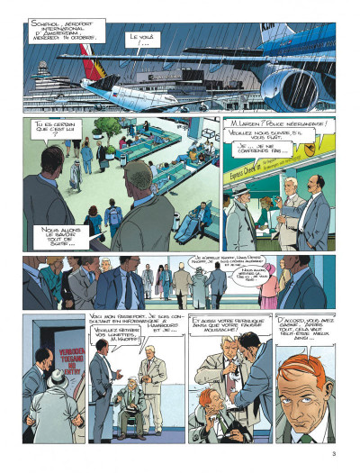 Page 3 Largo Winch tome 5 - H