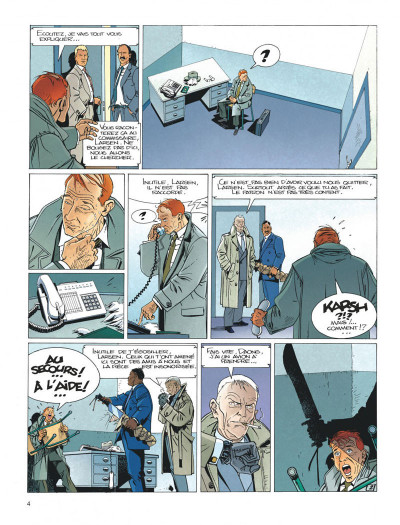 Page 4 Largo Winch tome 5 - H