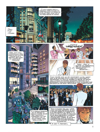 Page 5 Largo Winch tome 5 - H