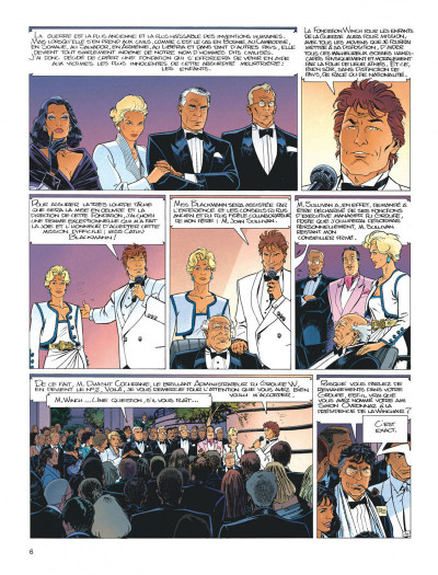 Page 6 Largo Winch tome 5 - H