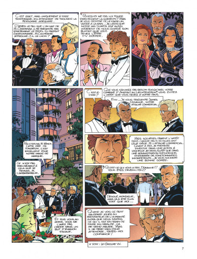 Page 7 Largo Winch tome 5 - H