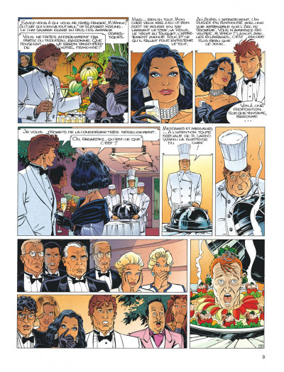 Page 9 Largo Winch tome 5 - H