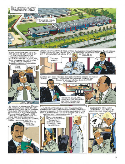 Page 3 Largo Winch tome 6 - dutch connection
