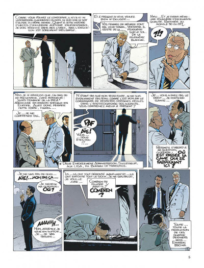 Page 5 Largo Winch tome 6 - dutch connection