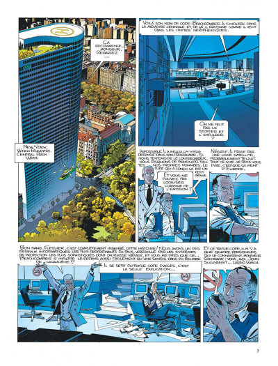 Page 7 Largo Winch tome 6 - dutch connection
