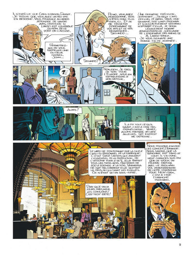 Page 9 Largo Winch tome 6 - dutch connection