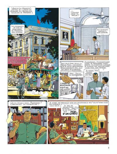 Page 3 Largo Winch tome 7 - la forteresse de Makiling