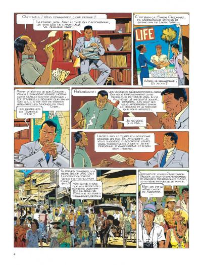 Page 4 Largo Winch tome 7 - la forteresse de Makiling