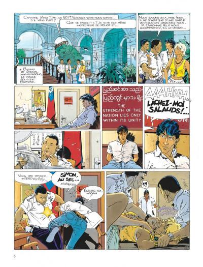 Page 6 Largo Winch tome 7 - la forteresse de Makiling