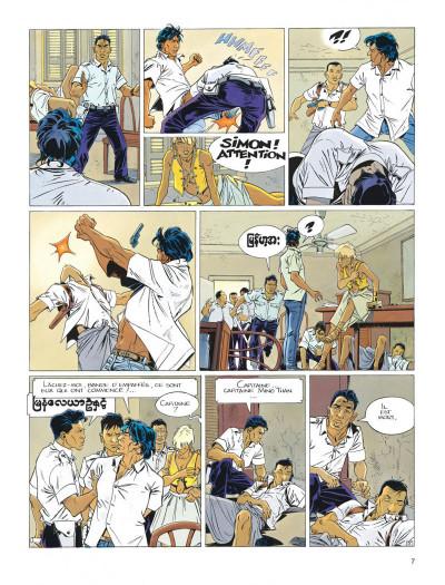 Page 7 Largo Winch tome 7 - la forteresse de Makiling