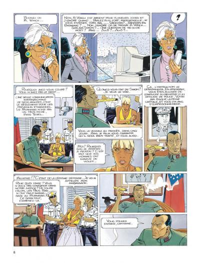 Page 8 Largo Winch tome 7 - la forteresse de Makiling