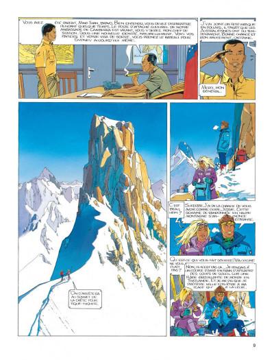 Page 9 Largo Winch tome 7 - la forteresse de Makiling