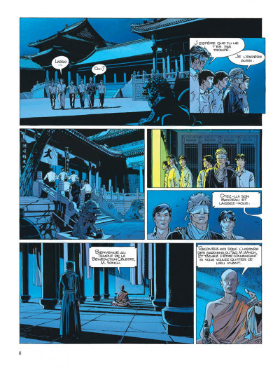 Page 6 Largo Winch tome 8 - l'heure du tigre
