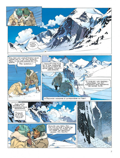 Page 7 Largo Winch tome 8 - l'heure du tigre