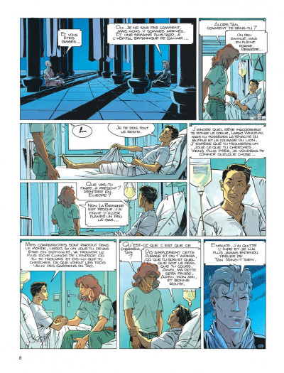 Page 8 Largo Winch tome 8 - l'heure du tigre