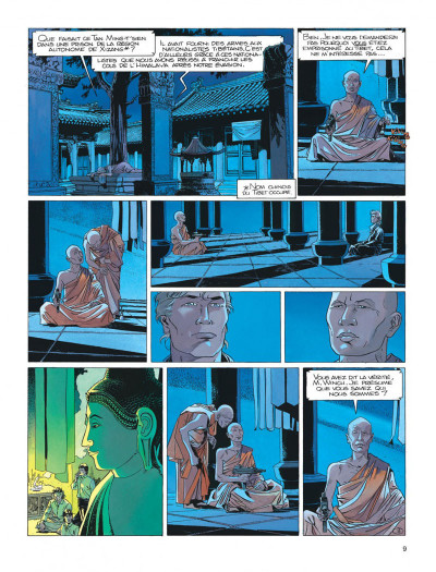 Page 9 Largo Winch tome 8 - l'heure du tigre