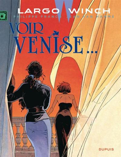 Couverture Largo Winch tome 9 - voir Venise...