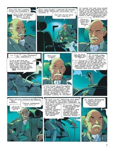 Page 3 Largo Winch tome 9 - voir Venise...